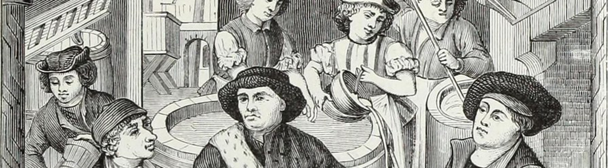 Scène historique de brassage