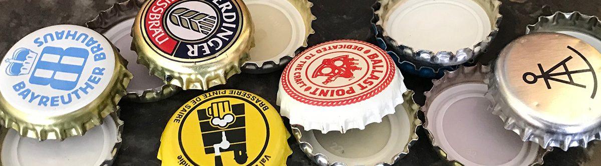 Des capsules de bières