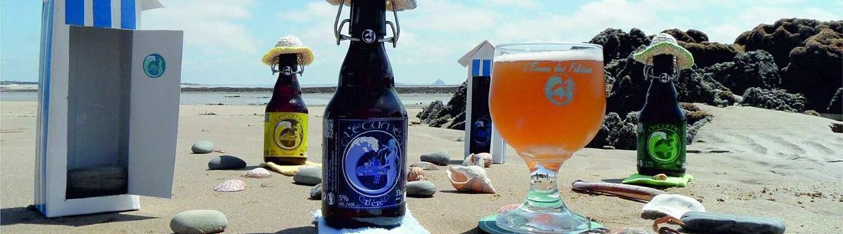 Bières de la brasserie l'Écume des Falaises