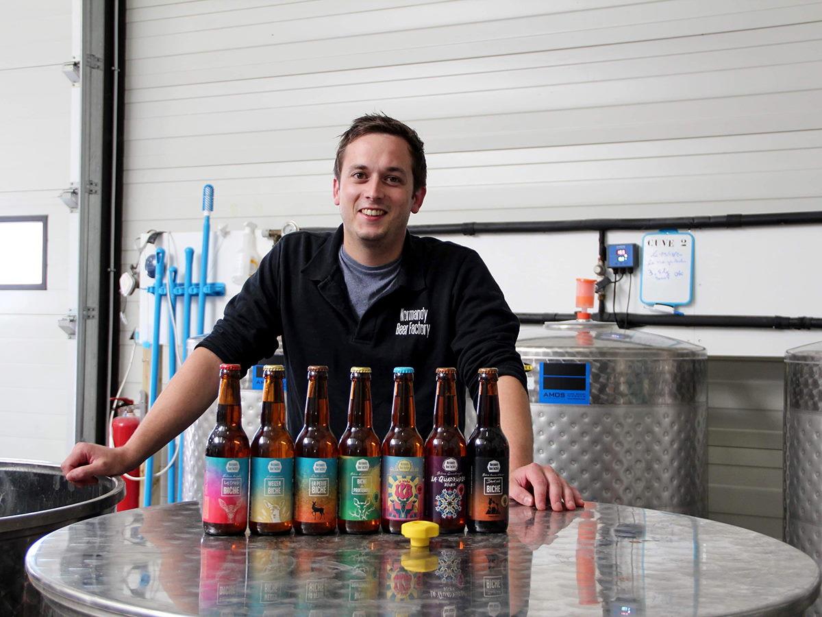 Etienne Confiant Normandy Beer Factory