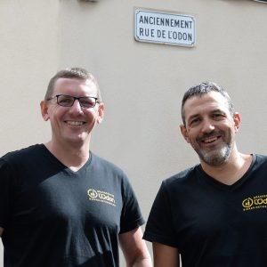 Vincent et Jean-Marc Odon