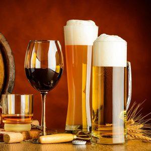 Biere et vin