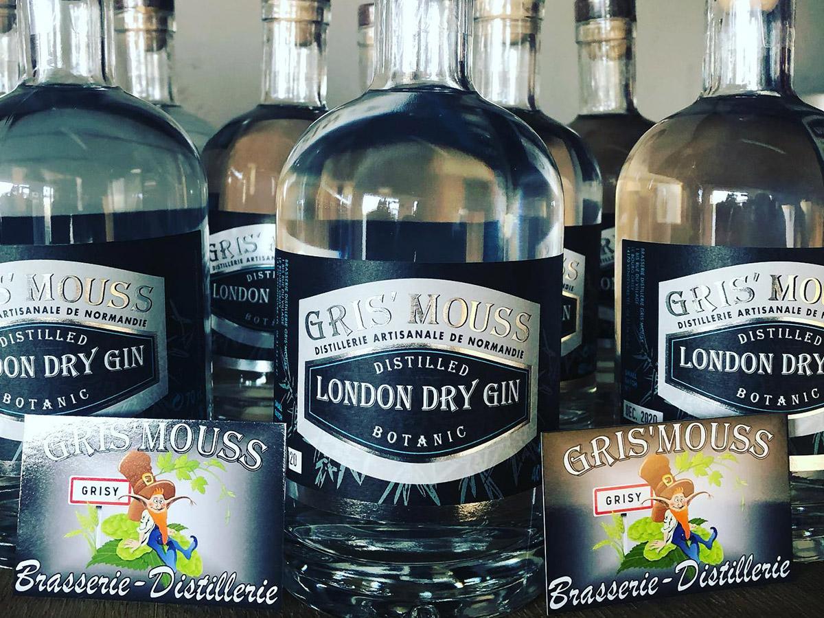 London Dry Gin par Gris Mouss