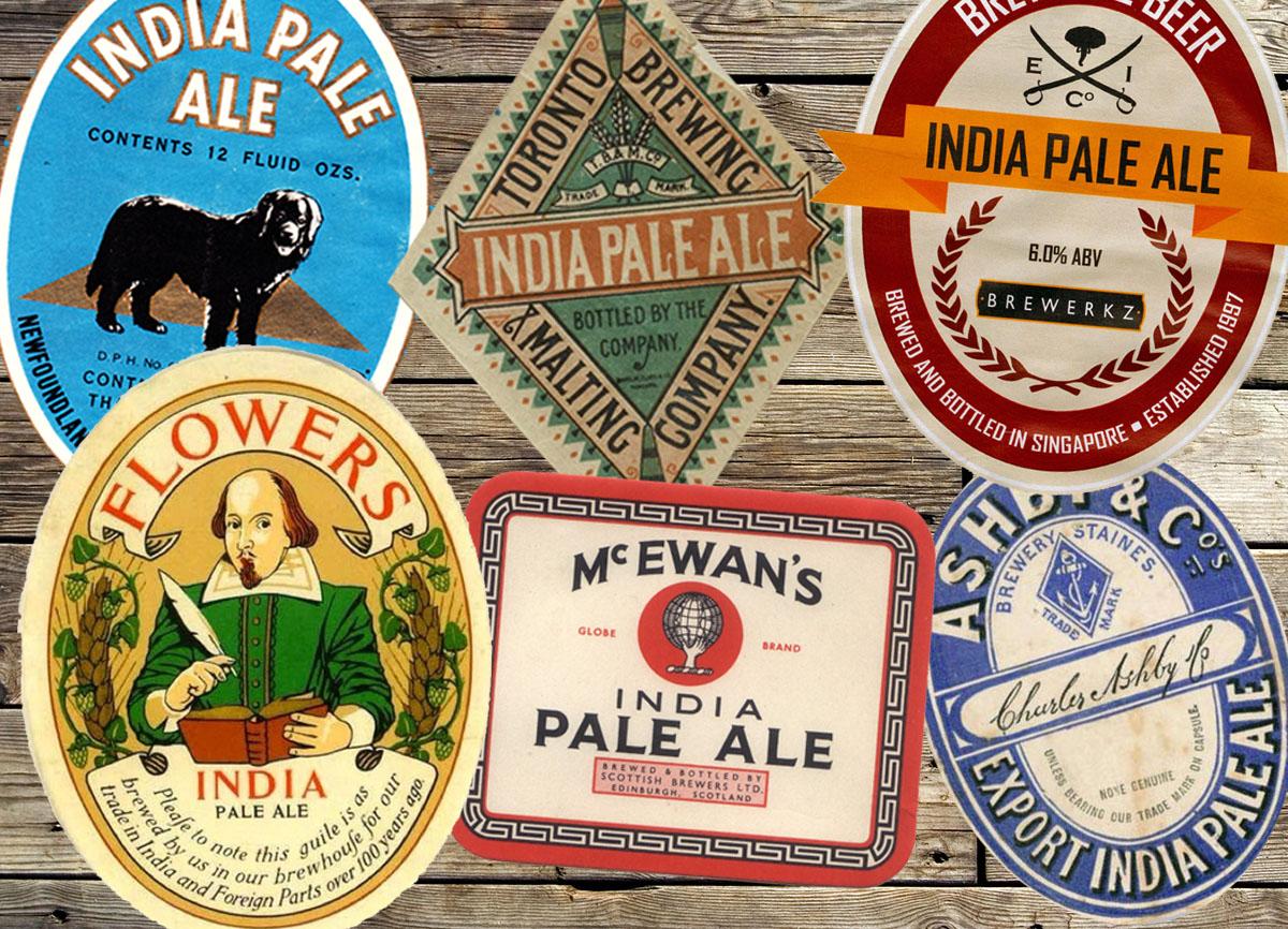 Vintage IPA label