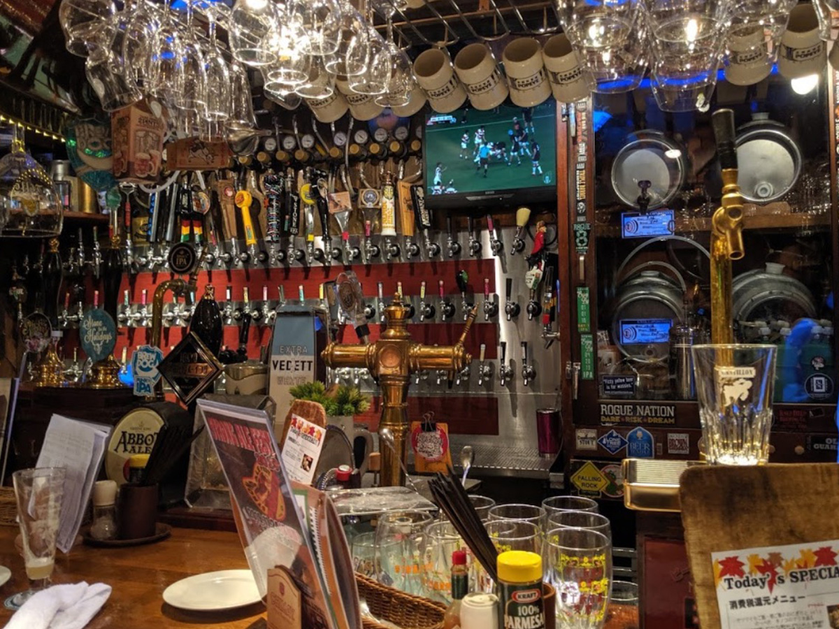 Popeye Beer Club Tokyo Japan