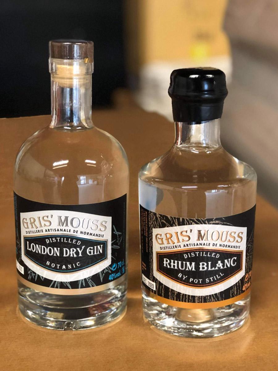 Gin gris'mouss