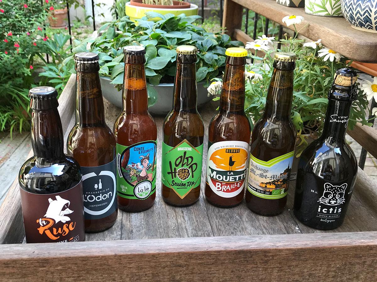 Quelques bières normandes