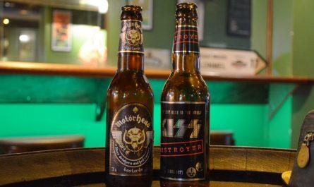 Bières Kiss et Motörhead