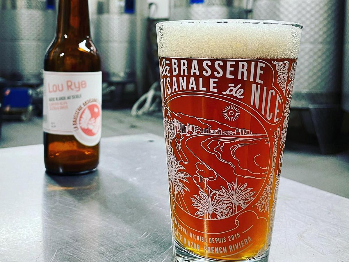 verre de la Brasserie Artisanale de Nice