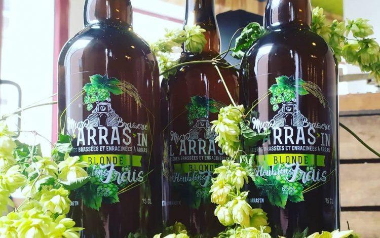 La Micro Brasserie L'ARRAS'IN brasse, des bières traditionnelles & originales, déclinées en différents styles