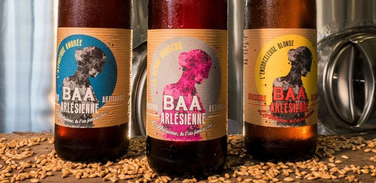 BBA, c'est une gamme de bières bios et artisanales imaginée et brassée à Saint Martin de Crau