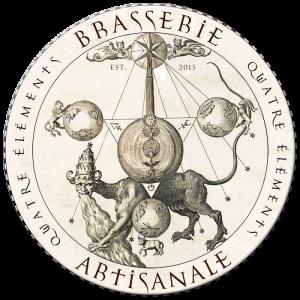 Logo brasserie Quatre Éléments de Carrouges