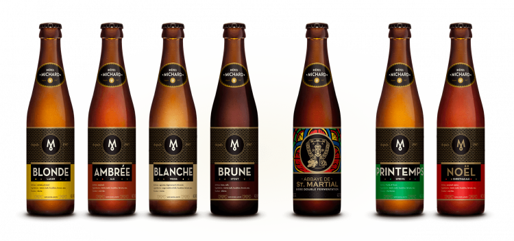Les bières Michard
