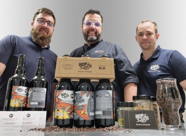 la Brasserie HopRock a pour but de promouvoir la bière artisanale et leurs styles aussi diversifiés qu'ils soient