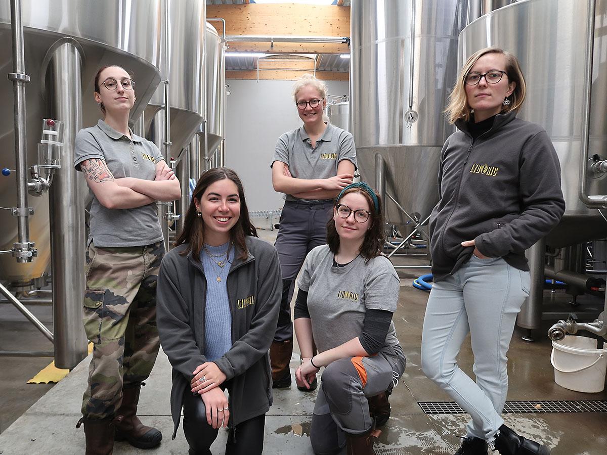 Les femmes de la Brasserie Lilloise