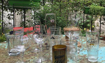 Différents verres à bière