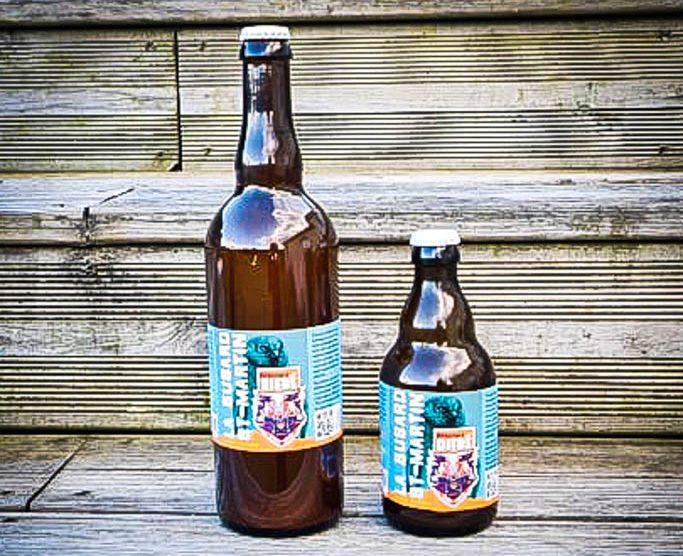bieres de la brasserie Difré : la buzard